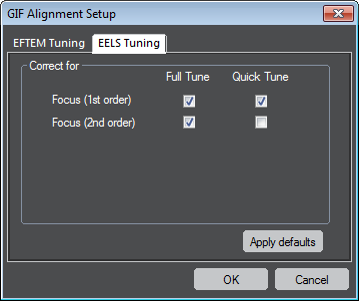 GIF Alignment Setup