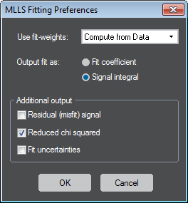 MLLS Fitting Preferences